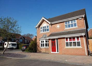 Thumbnail 4 bed detached house for sale in Snowberry Avenue, Belper
