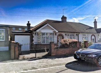 Thumbnail 2 bed bungalow for sale in Wadeville Avenue, Chadwell Heath, Romford