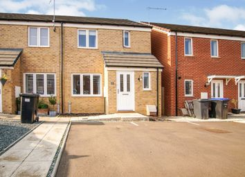 Thumbnail 3 bed end terrace house for sale in Northfield Way, Kingsthorpe, Northampton