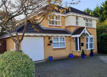 Thumbnail 4 bed detached house for sale in Bentley Close, Quedgeley, Gloucester