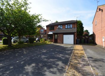 Thumbnail 4 bed detached house for sale in Cozens Close, Bedworth