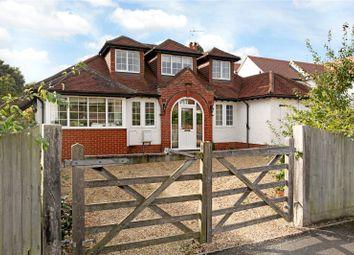 Thumbnail 4 bed detached house for sale in Grosvenor Road, Busbridge, Godalming, Surrey