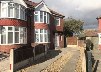 Thumbnail 3 bed semi-detached house to rent in Caledon Avenue, Moston, Manchester