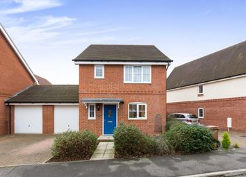 Thumbnail 3 bed detached house for sale in Chivers Road, Romsey