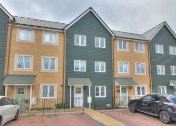 Thumbnail 4 bed town house for sale in Boyce Road, Church Crookham, Fleet