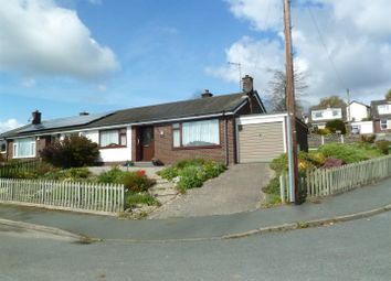 Thumbnail 2 bed semi-detached bungalow for sale in Oakfield, Garth, Llangollen