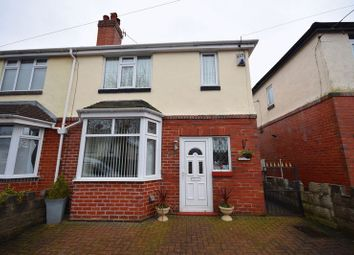 Thumbnail 3 bed semi-detached house for sale in Buxton Street, Sneyd Green, Stoke-On-Trent