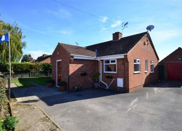Thumbnail 2 bed detached bungalow for sale in The Paddock, Main Street, Goole