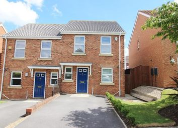Thumbnail 2 bed semi-detached house for sale in Wallington Close, Blaydon-On-Tyne, Tyne And Wear