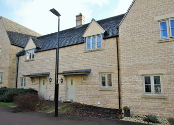 Thumbnail 2 bed terraced house for sale in Peckham Walk, Cirencester, Gloucestershire.