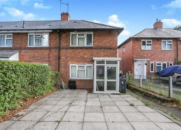 Thumbnail 2 bed end terrace house for sale in Matlock Road, Tyseley, Birmingham, .