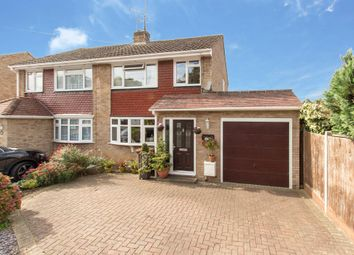 Thumbnail 3 bed semi-detached house for sale in Lemonfield Drive, Watford