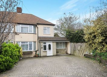 Thumbnail 4 bed semi-detached house for sale in Manse Way, Swanley