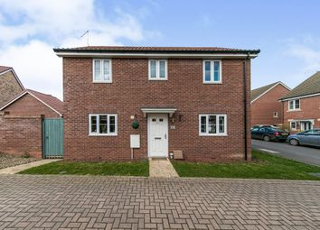 Thumbnail 3 bed detached house for sale in Brick Drive, Great Blakenham, Ipswich