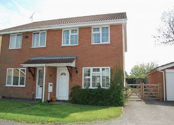 Thumbnail 3 bed semi-detached house to rent in Ashworth Close, Crick, Northampton