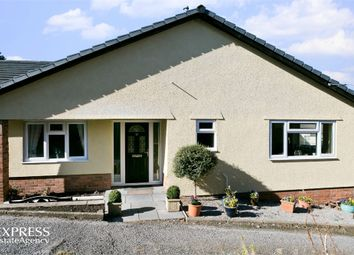 Thumbnail 4 bed detached bungalow for sale in Union Road West, Abergavenny, Monmouthshire