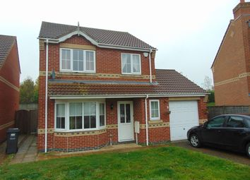 Thumbnail 3 bed detached house to rent in Cornwood Close, Lincoln