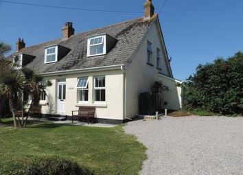 Thumbnail 4 bed semi-detached house for sale in St Merryn, Nr Padstow, Cornwall