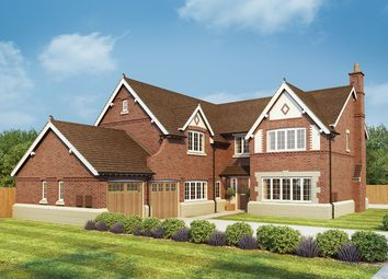 "Thumbnail 5 bed detached house for sale in ""Oak"" at Burcote Road, Towcester"