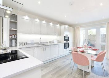 Thumbnail 3 bed flat for sale in Huxley Close, Godalming, Surrey