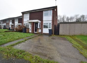 Thumbnail 2 bed semi-detached house for sale in Huggett Close, Rushey Mead, Leicester