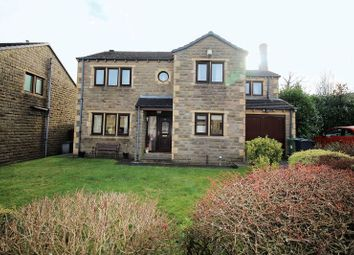 Thumbnail 4 bed detached house for sale in Scape View, Golcar, Huddersfield