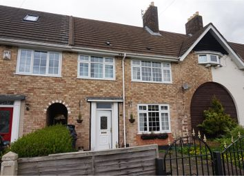 Thumbnail 3 bed terraced house for sale in Cromford Road, Huyton