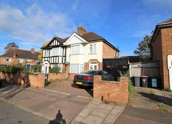 Thumbnail 3 bedroom semi-detached house to rent in Brackley Road, Bedford