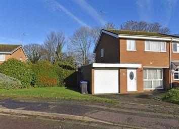 Thumbnail 3 bed semi-detached house for sale in Poplar Court, Abington, Northampton