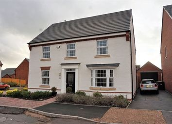 Thumbnail 4 bed detached house for sale in Dewsbury Crescent, Stafford