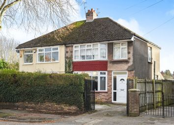 Thumbnail 3 bedroom semi-detached house for sale in Bwlch Road, Fairwater, Cardiff