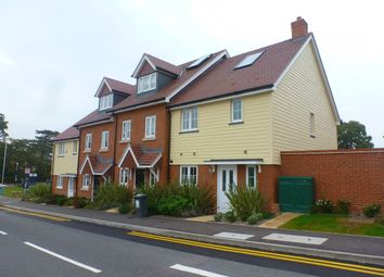 Thumbnail 3 bed terraced house to rent in Dame Kelly Holmes Way, Tonbridge