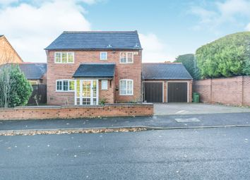 Thumbnail 4 bed detached house for sale in Chadwell Drive, Shirley, Solihull