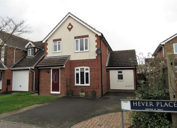 Thumbnail 4 bed detached house for sale in Hever Place, Sittingbourne, Kent
