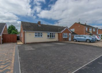 Thumbnail 2 bed semi-detached bungalow for sale in The Chestnuts, Leicester