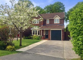 Thumbnail 4 bed detached house for sale in Greenbank Close, Willaston, Nantwich
