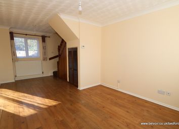 Thumbnail 3 bed terraced house to rent in Tinsley Close, Clapham, Bedfordshire