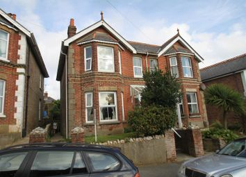 Thumbnail 4 bed semi-detached house for sale in Spring Gardens, Shanklin