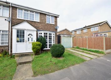 Thumbnail 3 bedroom end terrace house for sale in Apple Close, Snodland, Kent