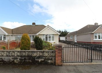 Thumbnail 2 bed semi-detached bungalow for sale in Llandaff Road, Beaufort, Ebbw Vale