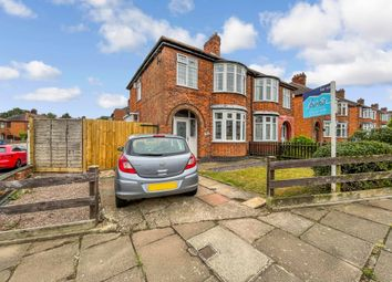 Thumbnail 3 bed semi-detached house for sale in Glenborne Road, Wigston, Leicester