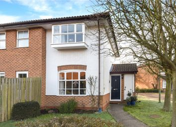 Thumbnail 1 bedroom end terrace house for sale in Harvard Close, Woodley, Reading