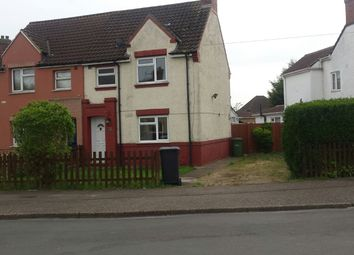 Thumbnail 2 bed semi-detached house to rent in Eastleigh Road, Peterborough