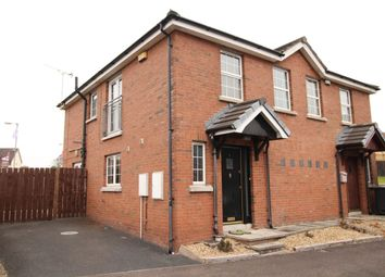 Thumbnail 2 bed semi-detached house for sale in Larksborough Close, Newtownards
