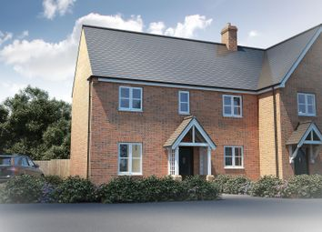 "Thumbnail 3 bed semi-detached house for sale in ""The Trelissick Sp"" at Winchester Road, Boorley Green, Botley"