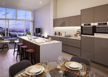 Thumbnail 3 bed flat for sale in Building 107 At The Village Square, West Parkside, Greenwich, London