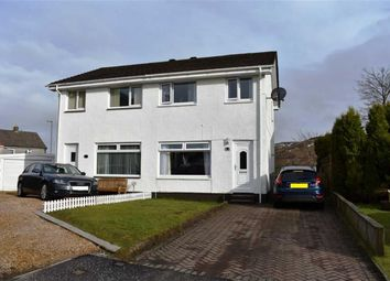 Thumbnail 3 bed semi-detached house for sale in 16, Crisswell Close, Greenock, Renfrewshire
