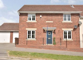 Thumbnail 4 bed semi-detached house for sale in Harvesters Way, South Milford, Leeds