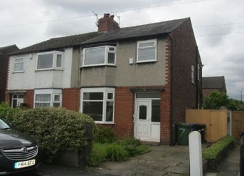 Thumbnail 3 bedroom semi-detached house to rent in Waverley Avenue, Stretford, Manchester