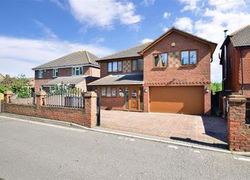 Thumbnail 4 bed detached house for sale in Main Road, Chattenden, Rochester, Kent